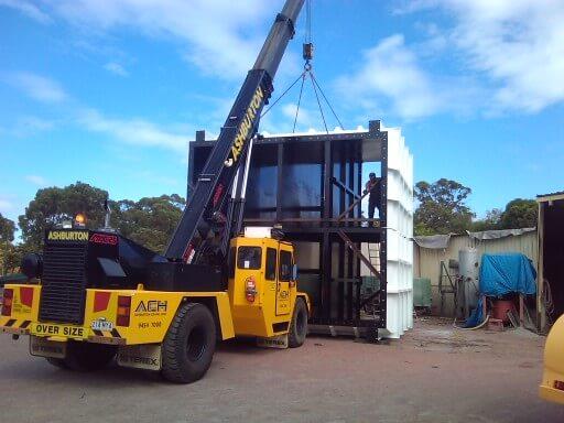 Franna crane hire Perth